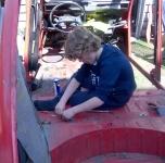 Thorsten en cours de restauration